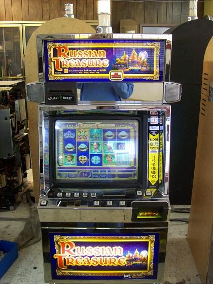 Slot Machines Used